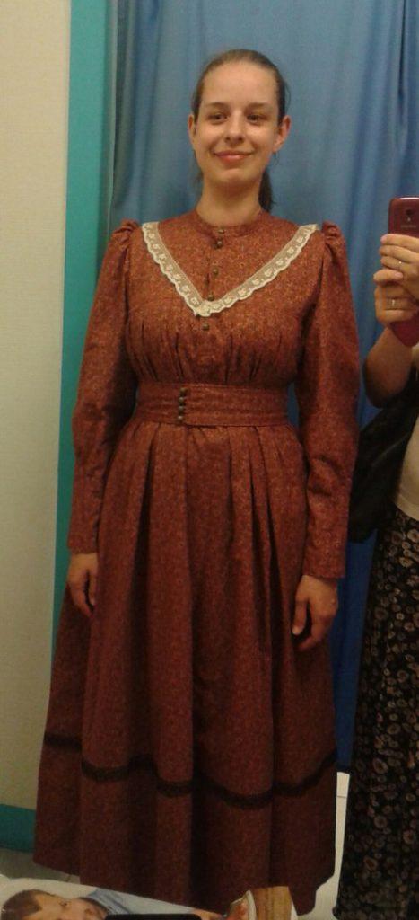 Мезенские платья